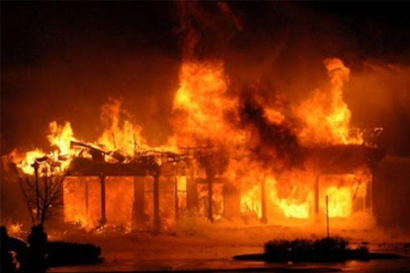 जुम्लाको तिला गाउँमा भीषण आगलागी, २८ घर जलेर नष्ट