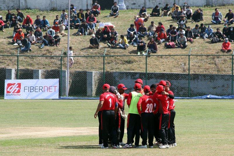 मेयर कप क्रिकेट : पुलिसविरुद्ध काठमाडौं मेयर्स-११ ले टस जित्यो
