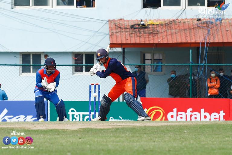 त्रिवि मैदानमा टी-२० क्रिकेटको रौनक (फोटो फिचर)