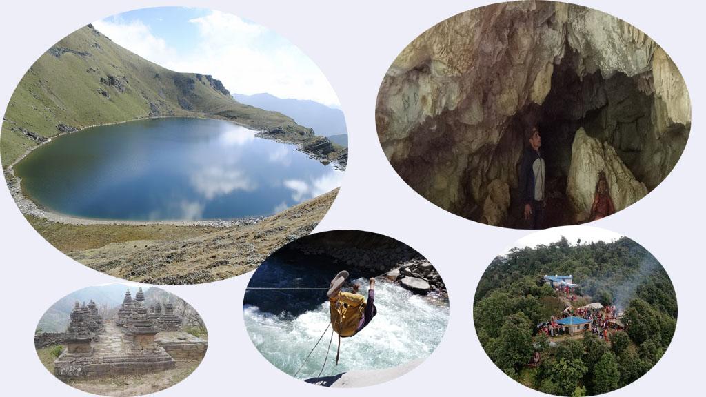 कोरोना प्रभाव :अझै देखिदैनन् पर्यटक, सुनसान पर्यटकीय स्थल