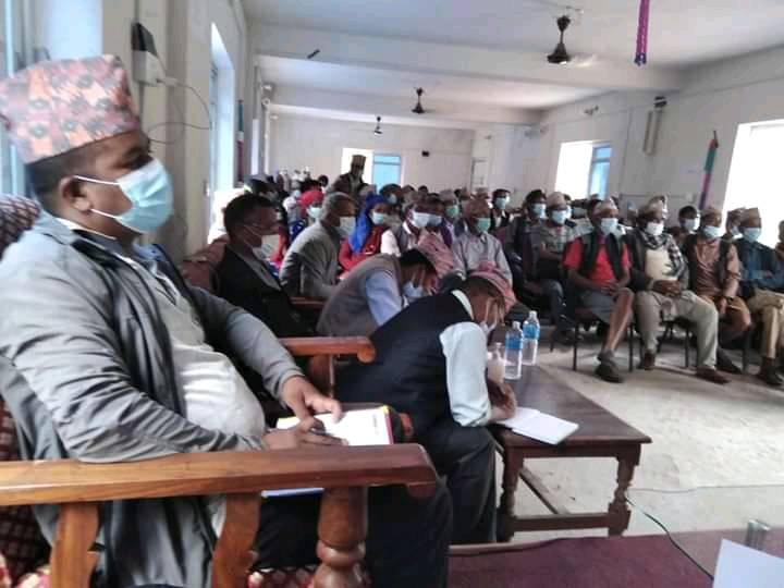 जाजरकोटका गाउँगाउँमा राजनितीक दलका कार्यक्रम